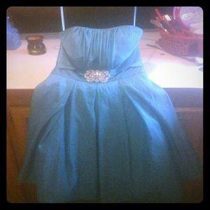 COPY - Formal Cinderella Prom Dress!sz.s/m,Turquo…